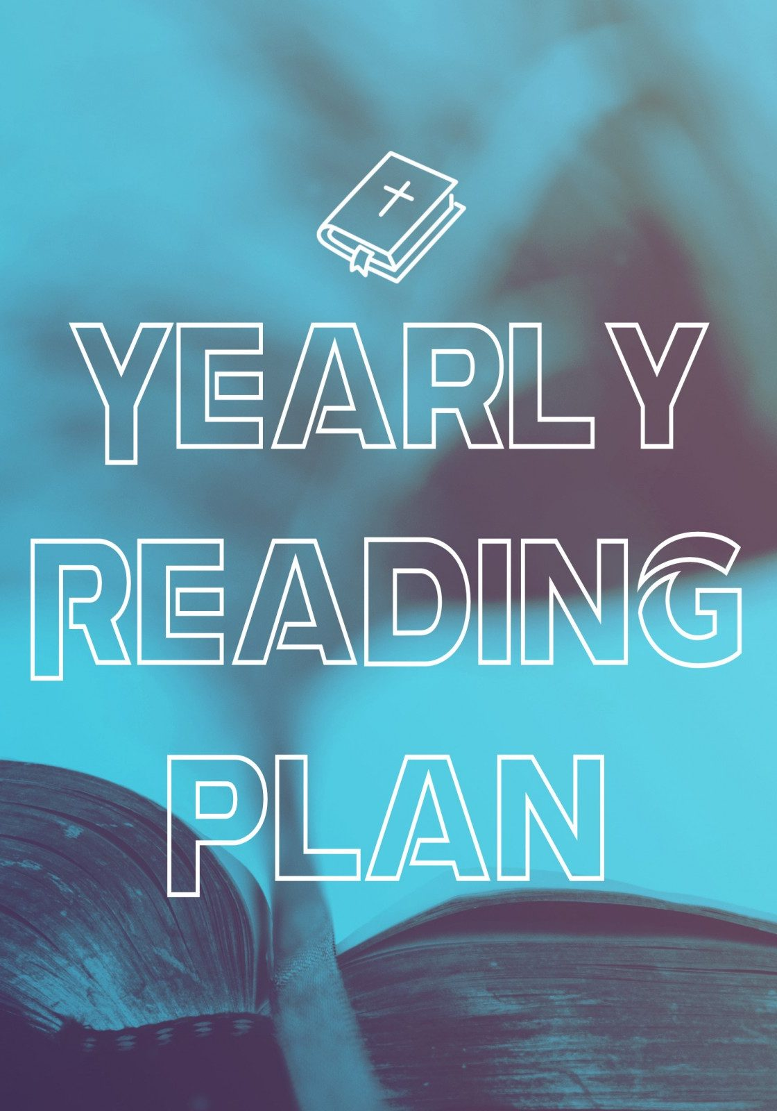 Yearly Reading Plan Graphic